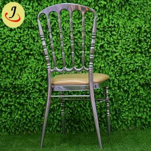 Top sale royal stainless steel wedding Tiffany chair   SF-SS041
