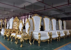 Cheap PriceList for Wholesale Fabric - Throne King Chair – Jiangchang Furniture