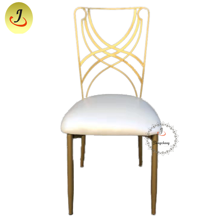 Top Sale Popular Stainless Steel Metal Chair /Wedding Stainless Metal Chair SF-SS034 Featured Image