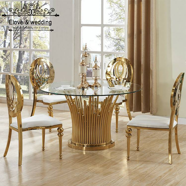 Round wedding table for events banquet SF-ST07 Featured Image