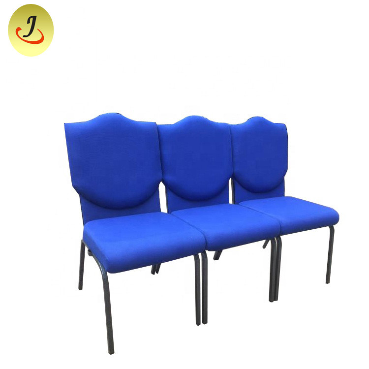 Chiese Factory Wholesale Stackable Church Chair/Auditorium Theater Church Chair SF-JC018 Featured Image