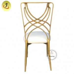 Top Sale Popular Wedding Hindi kinakalawang na Metal Chair SF-SS036