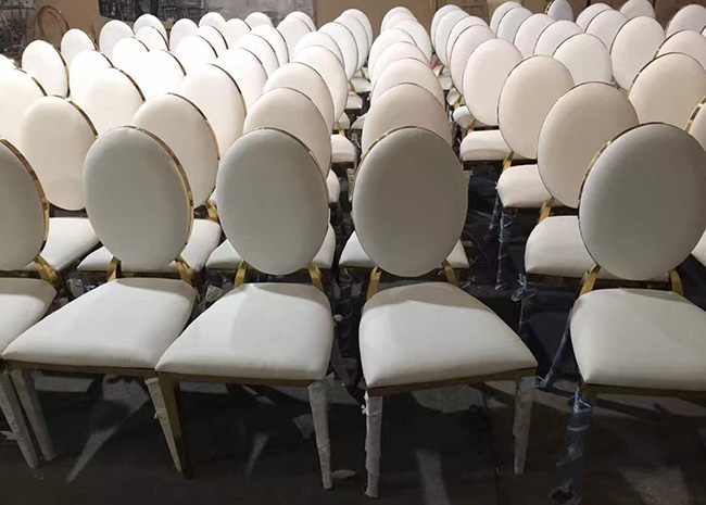 Good Wholesale Vendors Banquet Chairs Wedding - Stainless Steel Chair – Jiangchang Furniture Featured Image