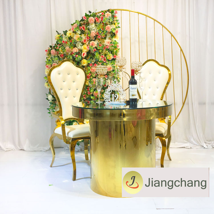 Modern Iron Metal Wedding Furniture Flower Wedding Backdrop SF-BJ020 Featured Image