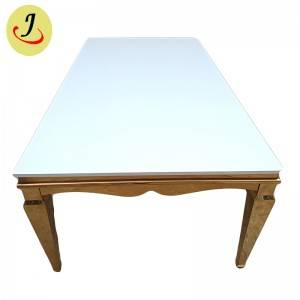 Modern style for wedding stainless steel dining table SF-SS037