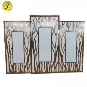 Modern square  Backdrop for Wedding for Sale/wedding display SF-BJ035