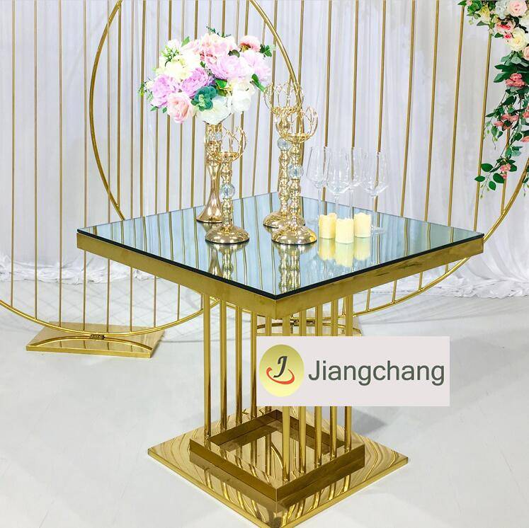 Top Sale Popular Modern Stainless Steel Metal Table SF-SS038 Featured Image