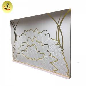 Wholesale Wedding Furniture Golden flower Backdrop for wedding SF-BJ037
