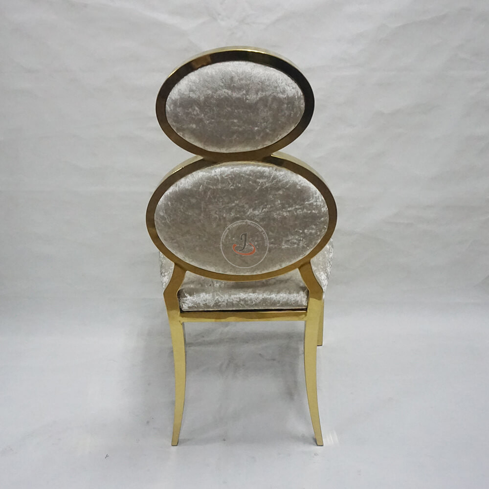 18 Years Factory Discount Church Chairs - wedding and event upholstered metal dining chair SF-SS16 – Jiangchang Furniture