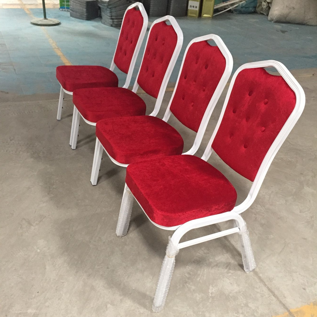 Wholesale Chinese Factory Cinema Chair - Used Stacking Banquet Chairs SF-L08 – Jiangchang Furniture detail pictures