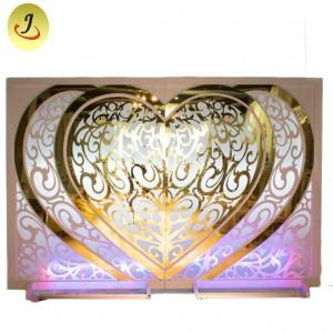 Modern Custom Large Acrylic Round Board Decoration for Wedding/wedding display SF-BJ035