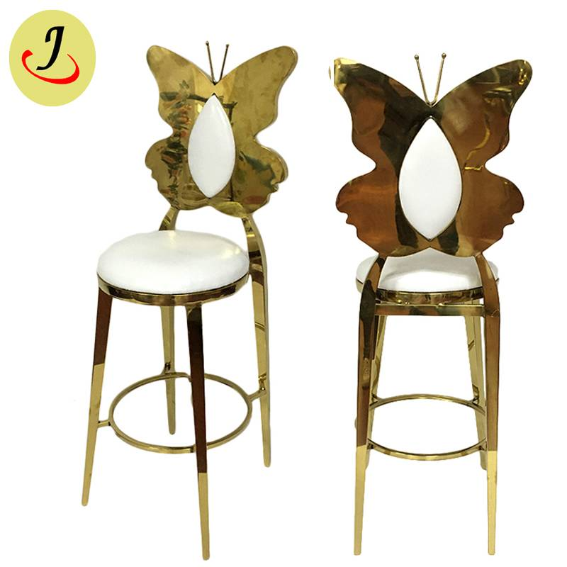 Top sale luxury style Stainless Steel Wedding Bar stool SF-MB06 Featured Image