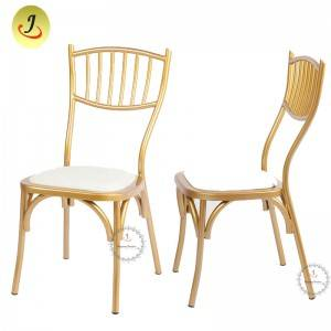 Wholesale price Fashion Modern fashion design iron Wedding Chiavari Chair FS-TC017