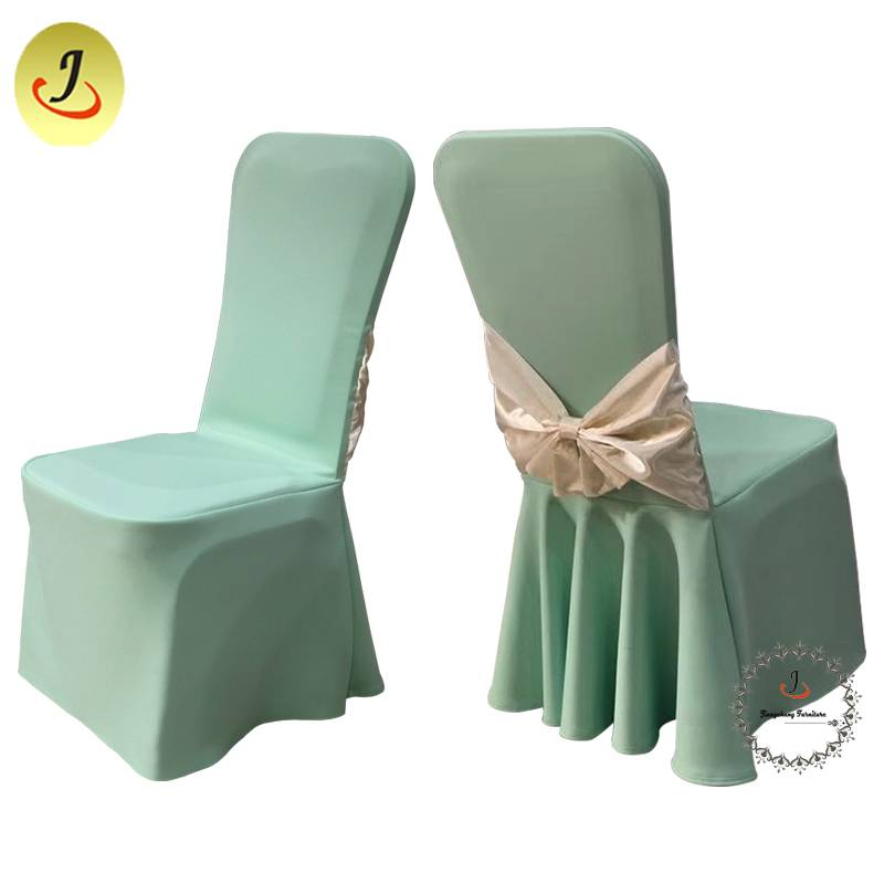 Wedding Popular Decoration banquet Chair Cover /Wedding Chair Cover SF-YZC01 Featured Image