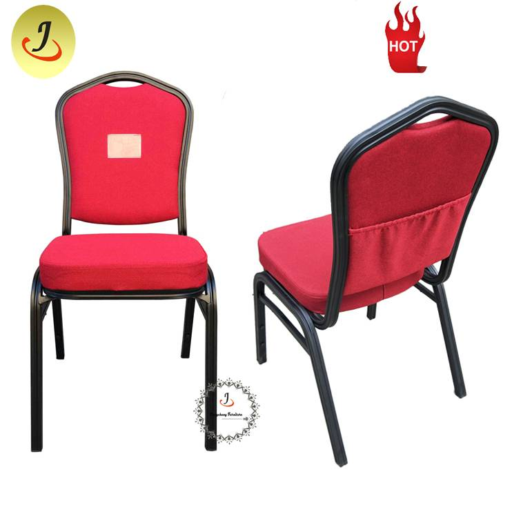 Multifunctional Modern Commercial Metal Iron Hotel Furniture Wedding event Banquet Chair SF-035 Featured Image