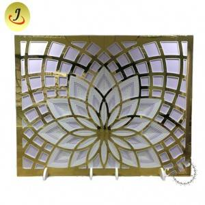 Modern Acrylic Flower Backdrop for Wedding for Sale/wedding display SF-BJ035