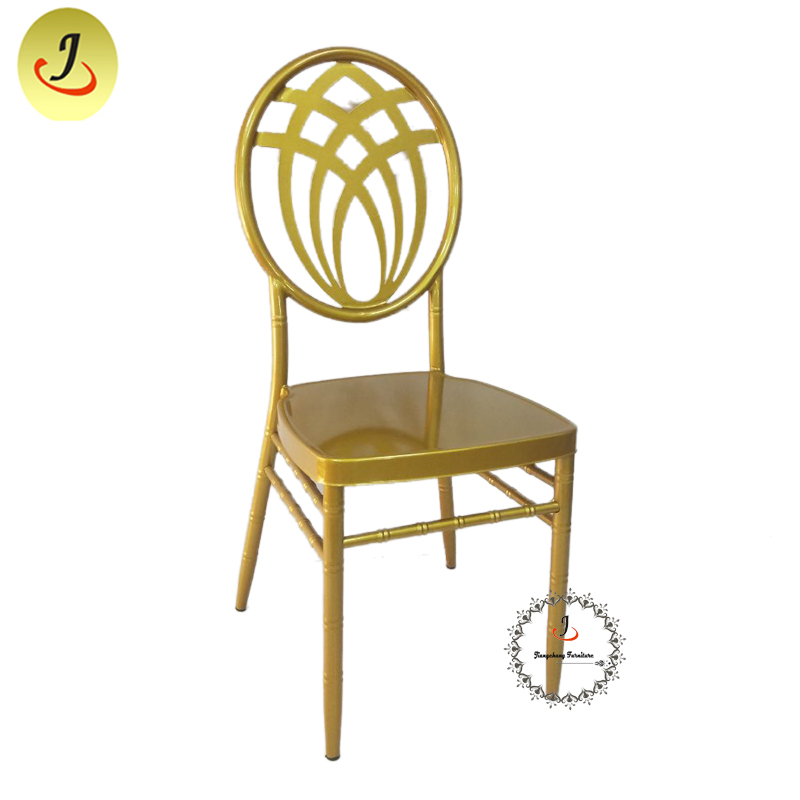 Wholesale price Round Back Aluminum Phoenix Chiavari Chair Wedding Channel Chair SF-RCC018 Featured Image
