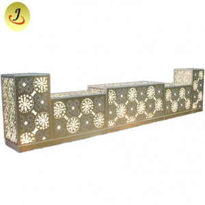 Top Sale New Design  Shape for LED Wedding table SF-WT023