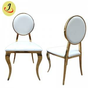 Factory supply golden Stainless Steel hotel wedding Chair  SF-SS026