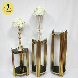 Cheap Modern Wedding stainless steel Flower Stand Decoration SF-Z027