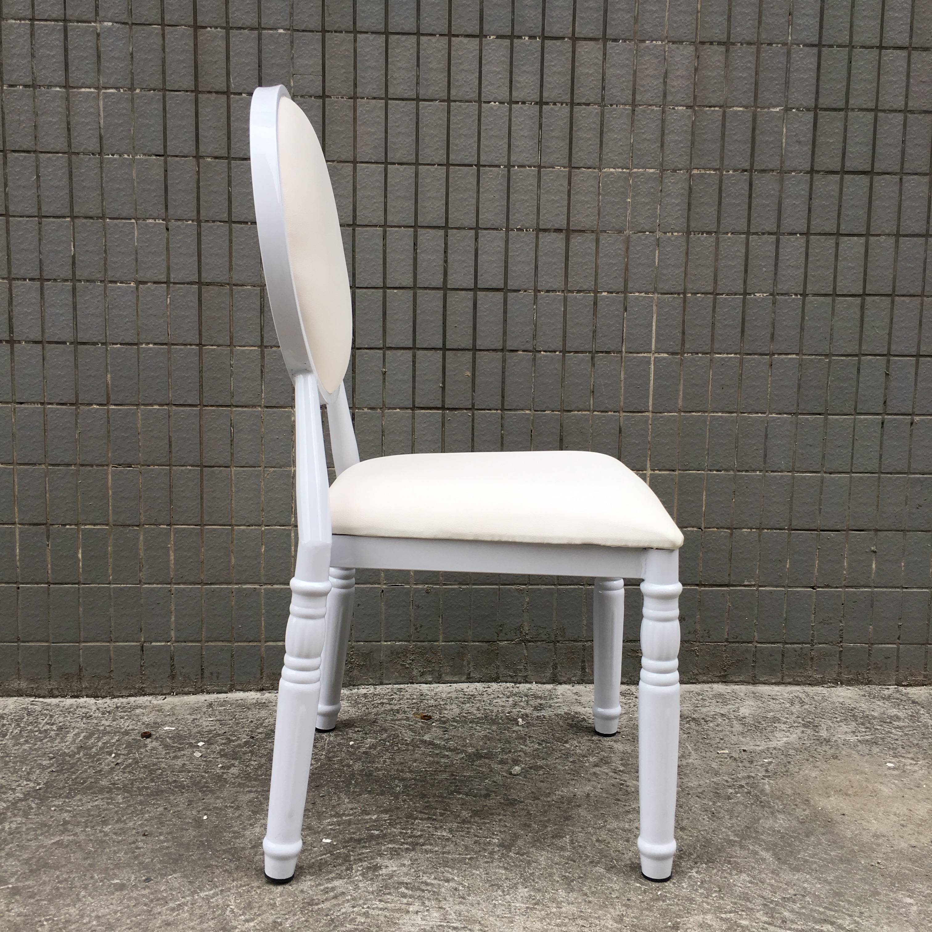 China New Product Bule Church Chair -
