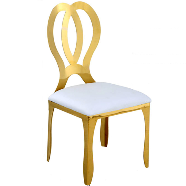 New Fashion Design for Stackable New Church Chairs - Stainless steel chair – Jiangchang Furniture