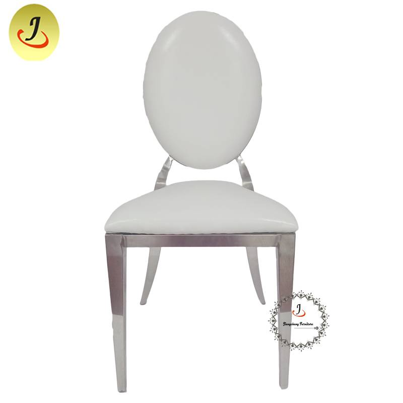 wholesale Modern  design top sale Gold Round Shape Stainless Steel Dining Chair  SF-SS034 Featured Image