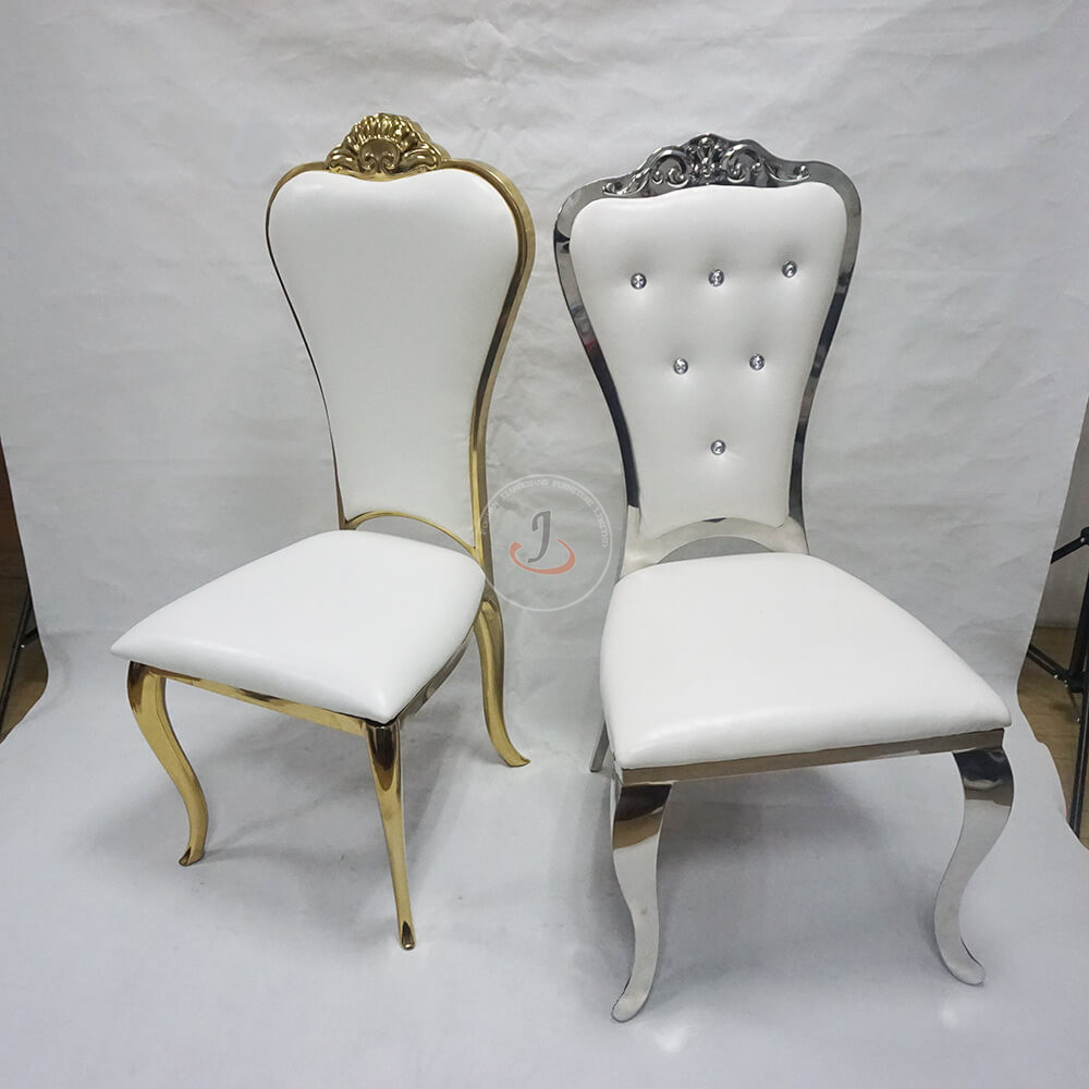 New Fashion Design for Stacking Church Chair Seat - hot sale gold wedding banquet dining chair for event party SF-SS13 – Jiangchang Furniture