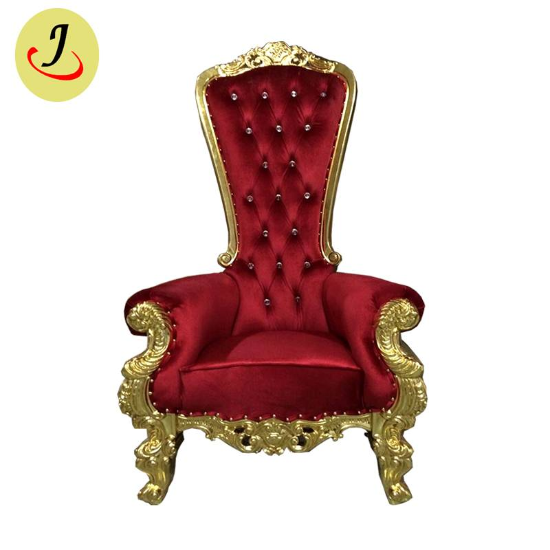 Golden high back luxury style popular King throne chair SF-K025 Featured Image