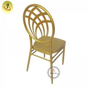 Wholesale price Round Back Aluminum Phoenix Chiavari Chair Wedding Channel Chair SF-RCC018