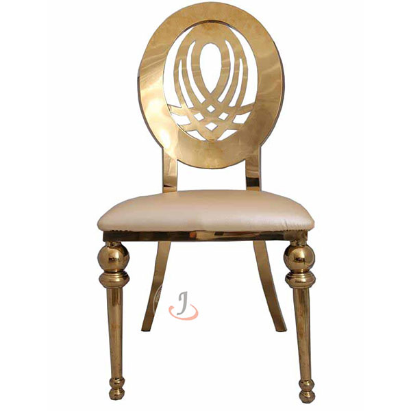 Factory Supply New Church Pews For Sale - Stainless Steel Chair Wedding Furniture SF-SS06 – Jiangchang Furniture