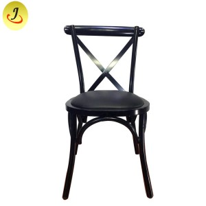 Cheap Priceoutdoor Modern Colored Children Plastic Cross Back Kid Chair SF-XH018