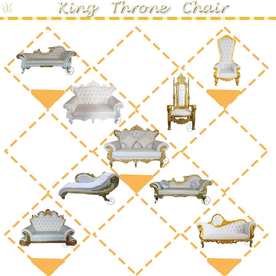 Why can you let the girls feel excited when they see the King throne chair…