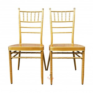 High definition Skirt Chairs Cover - Chiavari Chair Rental SF-ZJ01 – Jiangchang Furniture