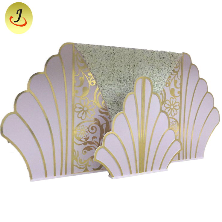 Modern new design backdrop for wedding stand/wedding display SF-BJ034 Featured Image