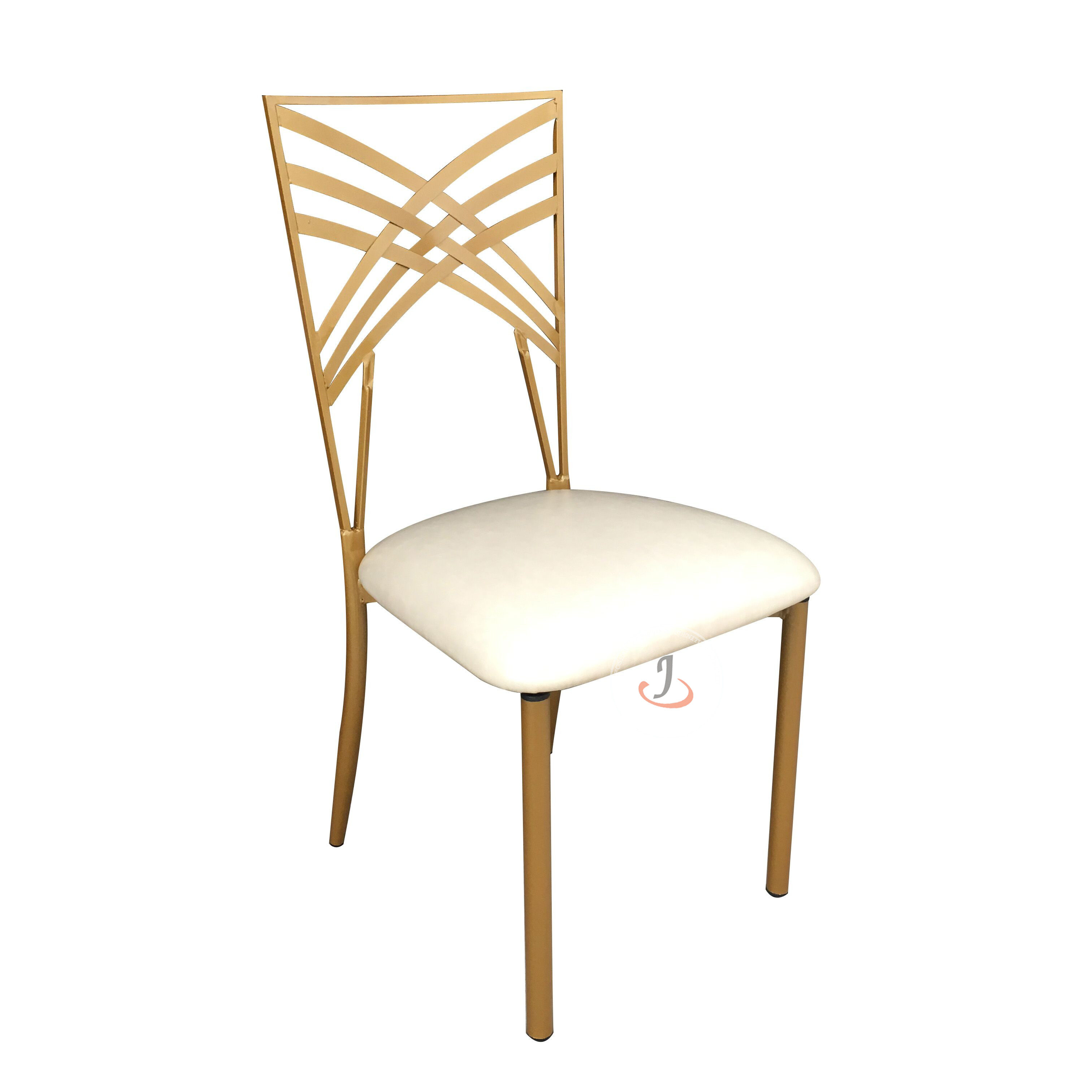 New Arrival China Hot Sell Hotel Equipment - iron Cross Back Chair SF-ZJ05 – Jiangchang Furniture