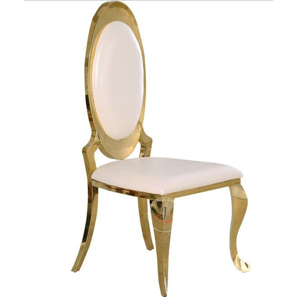 Reasonable price Church Chairs For Less - Luxury Stainless Steel Chair For Wedding SF-SS07 – Jiangchang Furniture