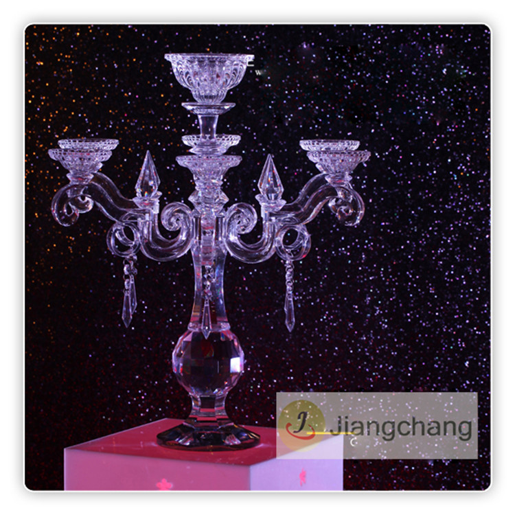 Hot Selling Home Decoration Glass Candle Holder SF-ZT022 Featured Image
