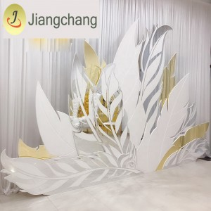 Modern new design backdrop for wedding stand/wedding display SF-BJ034