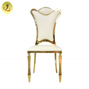 Gold Stackable Event Chairs/Wedding-Stainless-Steel/Dining Chairr SF-SS029