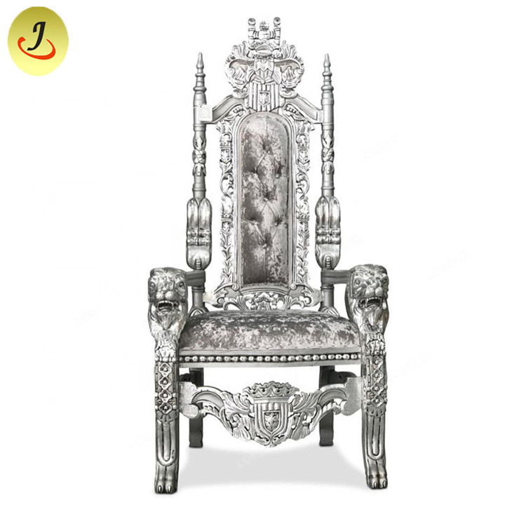 Gold Luxury Royal High Back Queen Throne Chair SF-K029 Featured Image