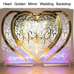 Heart Golden emiliana Wedding tarrazza SF-BJ03