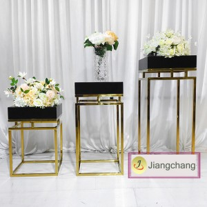 White iron spray paint round plinths wedding flower stands/wedding decoration/wedding flower display SF-Z020