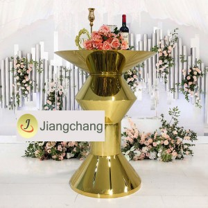 Wedding Furniture Events Stainless Steel High Bar Table for sale  SF-MB04