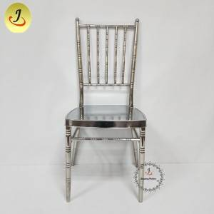 Wholesale factory Popular mirror Elegant royal stainless chiavari Chiavari Chair FS-TC020