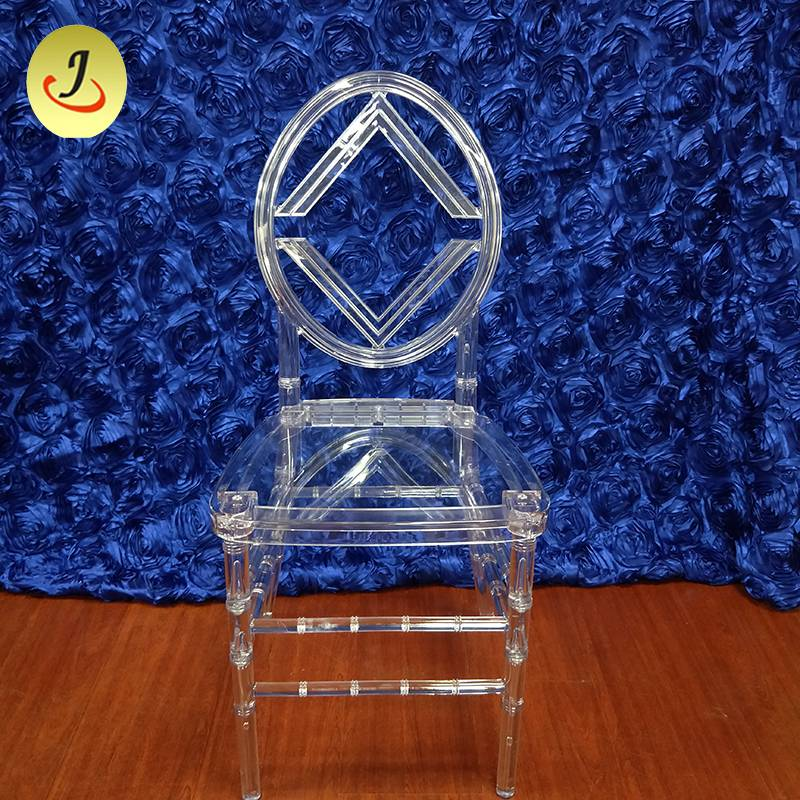 Wholesale price excellent quality acrylic transparent round back wedding chair SF-X07 Featured Image