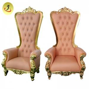 Golden high back popular King throne chair SF-K021