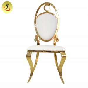 Kursi Gold stackable Event / Wedding-Stainless Steel / Dining Chairr SF-SS029