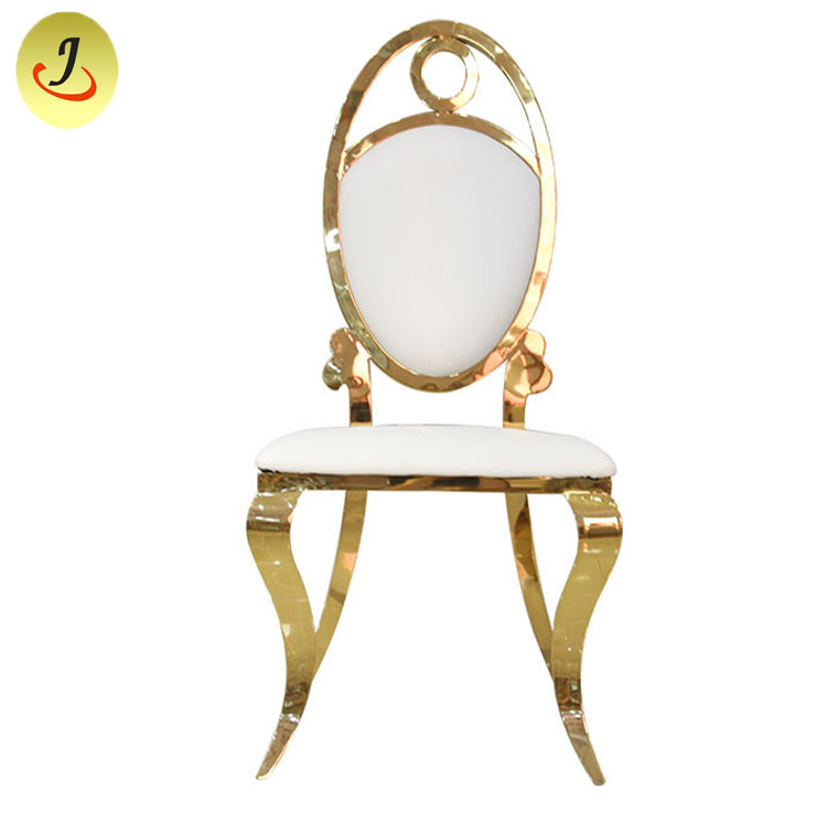 Gold Stackable Event Chairs/Wedding-Stainless-Steel/Dining Chairr SF-SS029 Featured Image