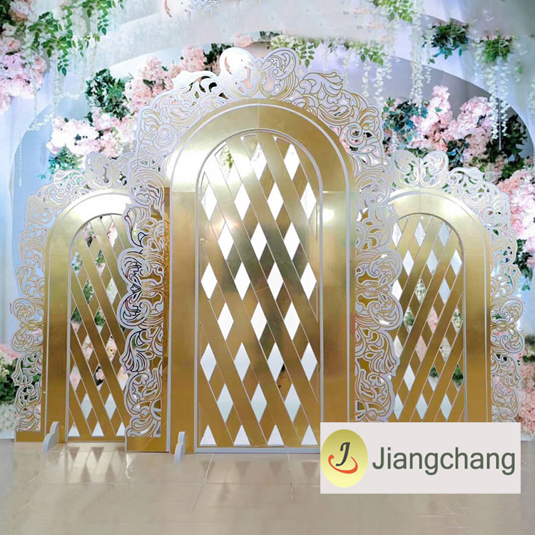New Products  Silver Acrylic Backdrop for Wedding SF-BJ019 Featured Image